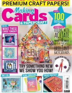 Making Cards & PaperCraft – January-February 2021