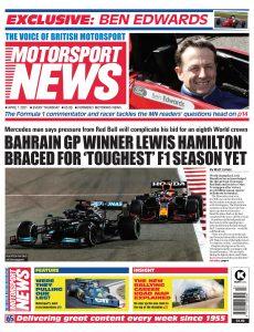 Motorsport News – April 01, 2021