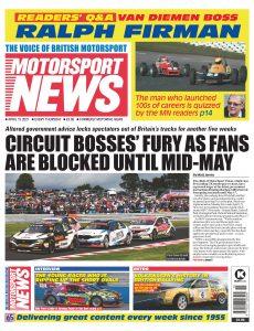 Motorsport News – April 15, 2021