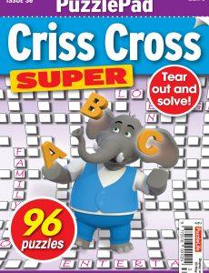 PuzzleLife PuzzlePad Criss Cross Super – 22 April 2021