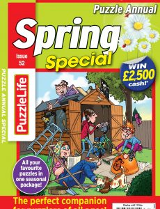 PuzzleLife Puzzle Annual Special – 15 April 2021
