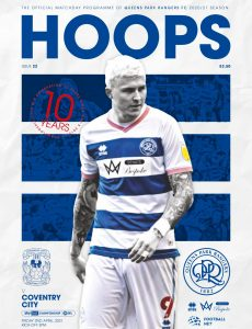 QPR Official Programmes – vs Coventry City – 2 April 2021