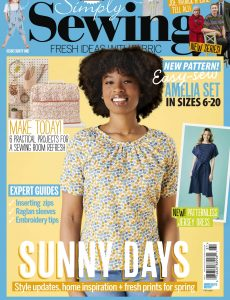 Simply Sewing – Issue 81 – April 2021