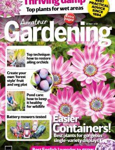 Amateur Gardening – 29 May 2021