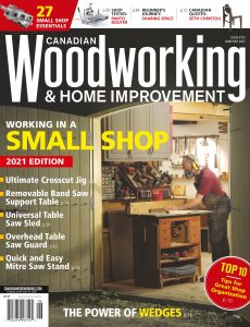 Canadian Woodworking – June-July 2021