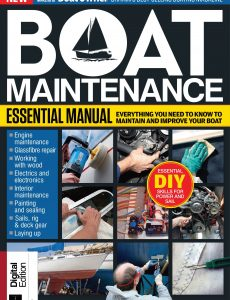 Essential Boat Maintenance Manual – First Edition, 2021