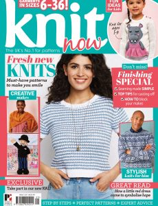 Knit Now – May 2021