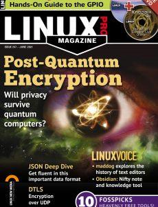Linux Magazine USA – Issue 247 – June 2021