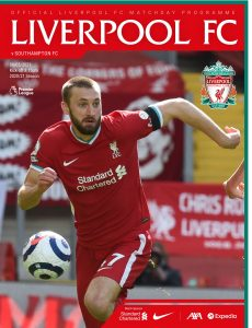 Liverpool FC Programmes – vs Southampton – 8 May 2021