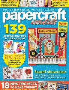 Papercraft Essentials – June 2021