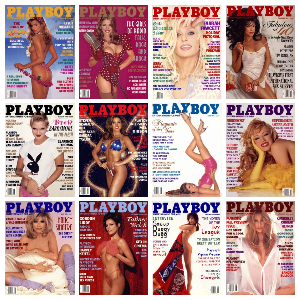 Playboy USA – Full Year 1995 Issues Collection