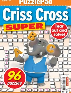 PuzzleLife PuzzlePad Criss Cross Super – 20 May 2021