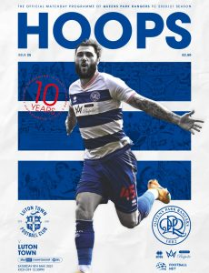 QPR Official Programmes – vs Luton Town – 8 May 2021