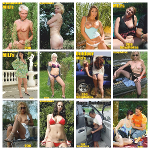 Sexy Outdoor MILFs Adult Photo Magazine – Full Year 2020 Issues Collection