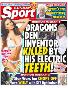 The Sunday Sport – May 08, 2021
