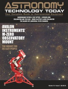 Astronomy Techonology Today – Vol 15, Issue 2, 2021