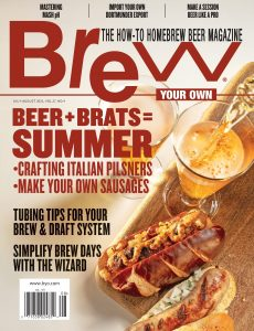 Brew Your Own – July-August 2021