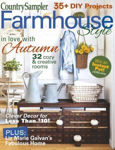 Country Sampler Farmhouse Style – September 2021