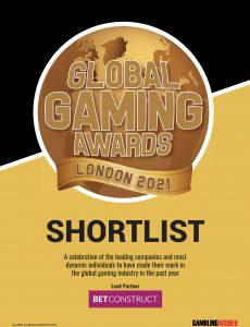 Gambling Insider – Global Gaming Awards London 2021 Shortlist
