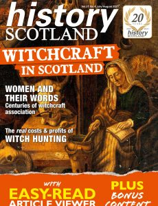 History Scotland – July-August 2021