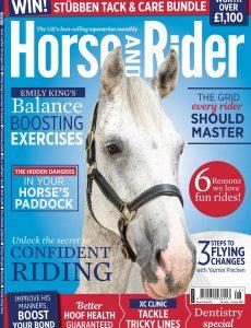 Horse & Rider UK – August 2021