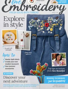 Love Embroidery – Issue 15 – June 2021