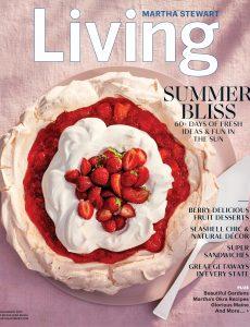 Martha Stewart Living – July-August 2021
