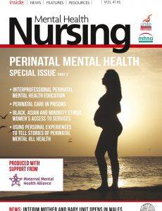 Mental Health Nursing – Volume 43 No 3 – June-July 2021