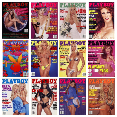 Playboy USA – Full Year 2000 Issues Collection