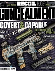 RECOIL Presents Concealment – Issue 22, 2021