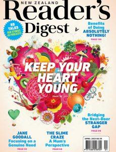 Reader's Digest New Zealand – April 2021
