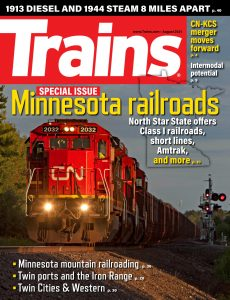 Trains – August 2021