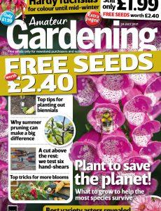 Amateur Gardening – 24 July 2021