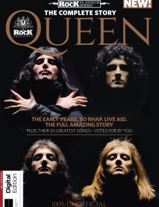 Classic Rock Magazine Presents Queen The Complete Story, Third Edition (2021)