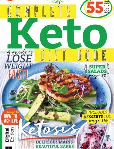 Complete Keto Diet Book – First Edition, 2021