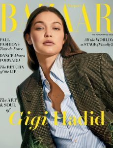 Harper's Bazaar USA – August 2021