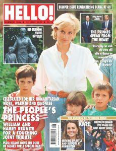Hello! Magazine UK – 12 July 2021