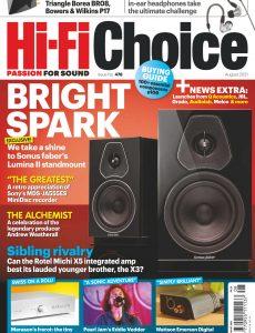 Hi-Fi Choice – August 2021