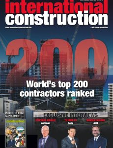 International Construction – July-August 2021