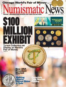 Numismatic News – August 03, 2021