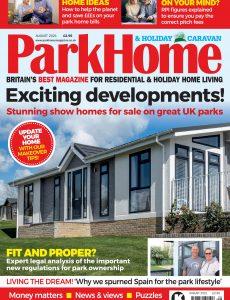 Park Home & Holiday Caravan – August 2021