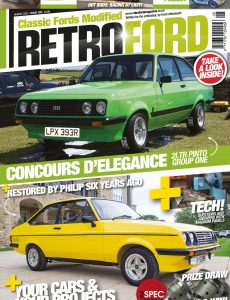 Retro Ford – Issue 185 – August 2021