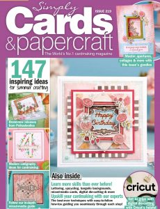Simply Cards & Papercraft – Issue 219 – July 2021