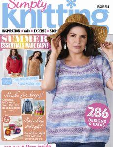 Simply Knitting – September 2021