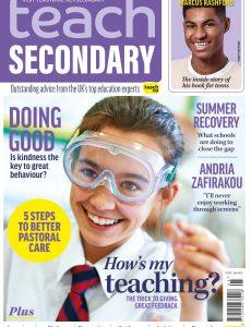 Teach Secondary – Volume 10 No 5 – June-July 2021