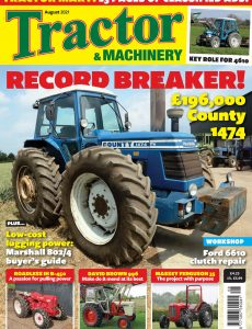 Tractor & Machinery – August 2021