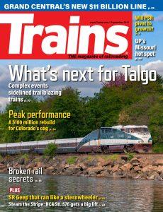 Trains – September 2021