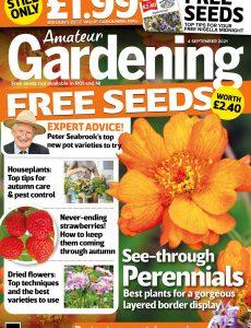 Amateur Gardening – 04 September 2021