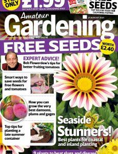 Amateur Gardening – 21 August 2021