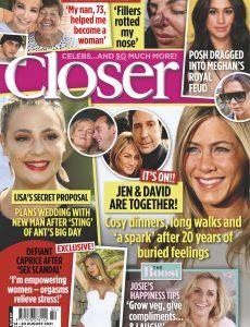 Closer UK – 18 August 2021